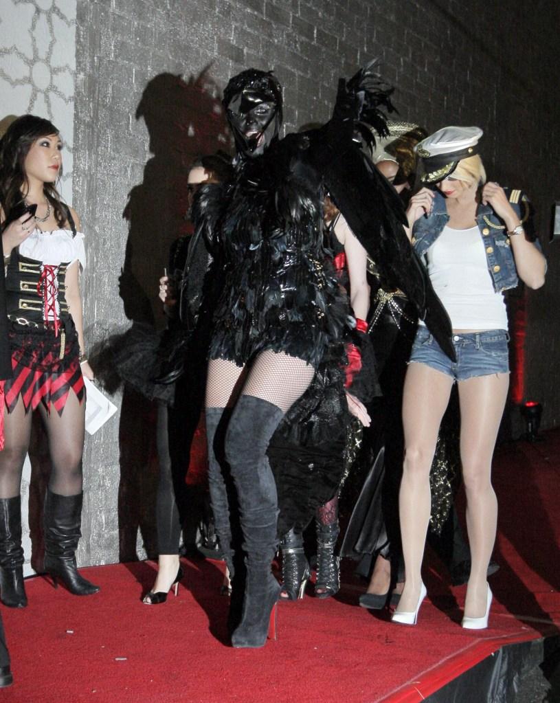 Heidi Klum, Heidi Klum's Halloween Party, Halloween, costumes, crow