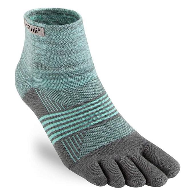 Injinji Trail Midweight Mini-Crew Socks, toe socks