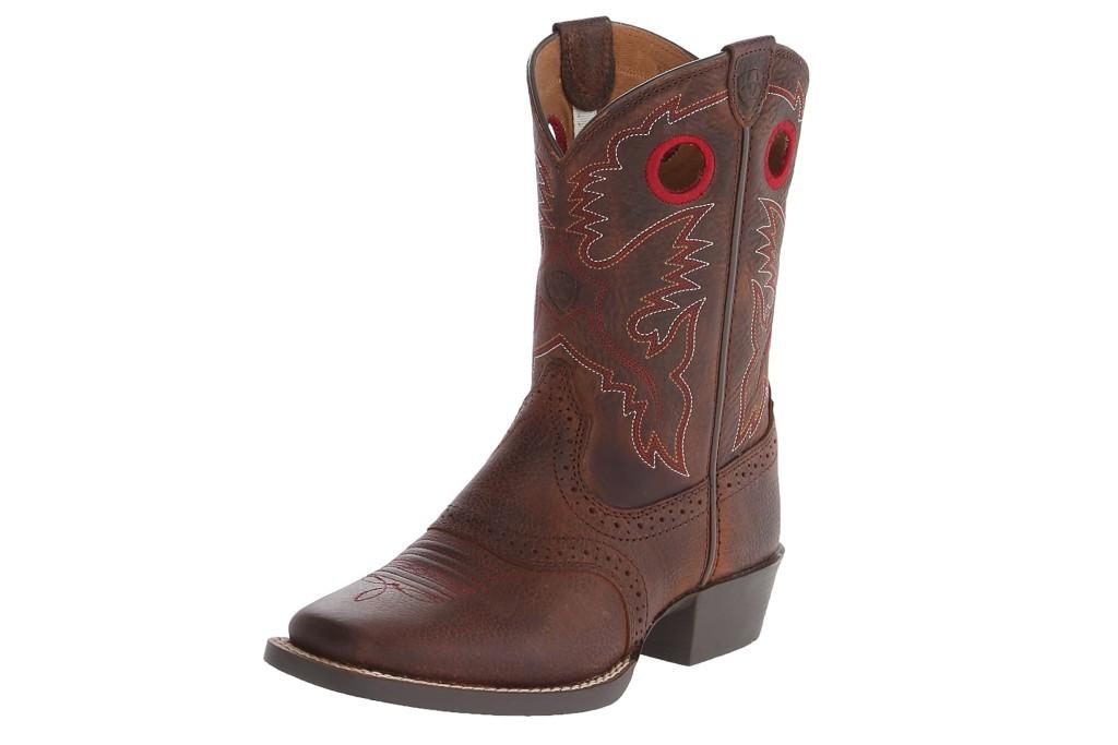 Ariat Kids' Roughstock Western Cowboy Boot, kids western boots