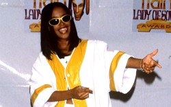 Aaliyah at the Lady Soul Train