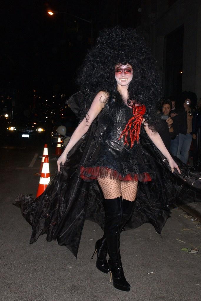 Heidi Klum, Heidi Klum's Halloween Party, Halloween, costumes, vampire