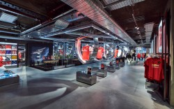 Adidas new London digital flagship.