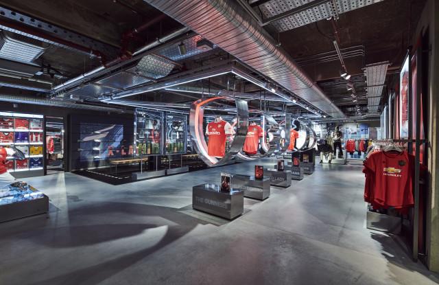 Adidas new London digital flagship.