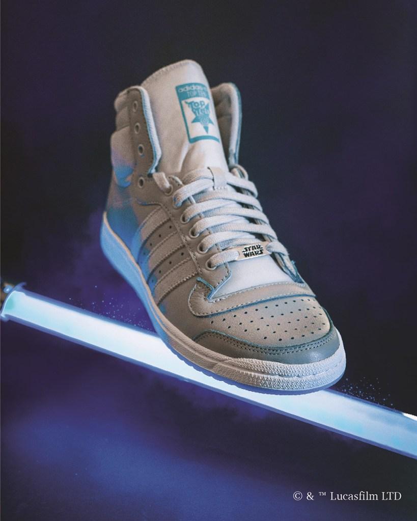 Adidas Originals Top Ten Hi , adidas x star wars, obi-wan kenobi, sneakers