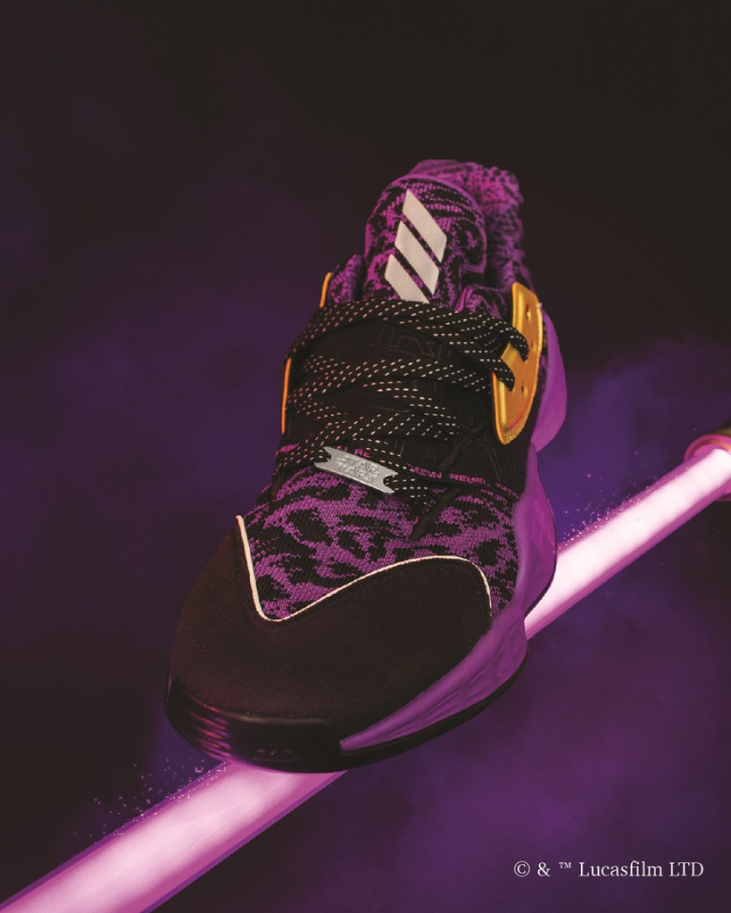 star wars, lightsaber, Adidas, harden, vol 4, sneakers,