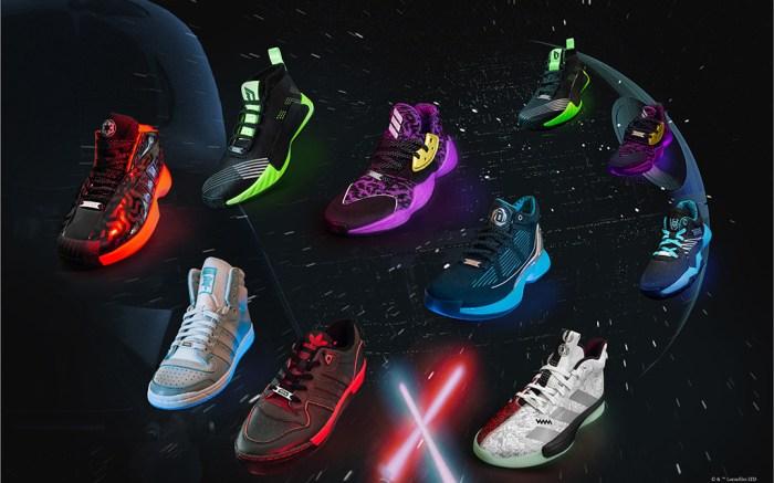 Adidas, star wars, sneakers