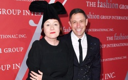 Nell Campbell and Jonathan AdlerFashion Group