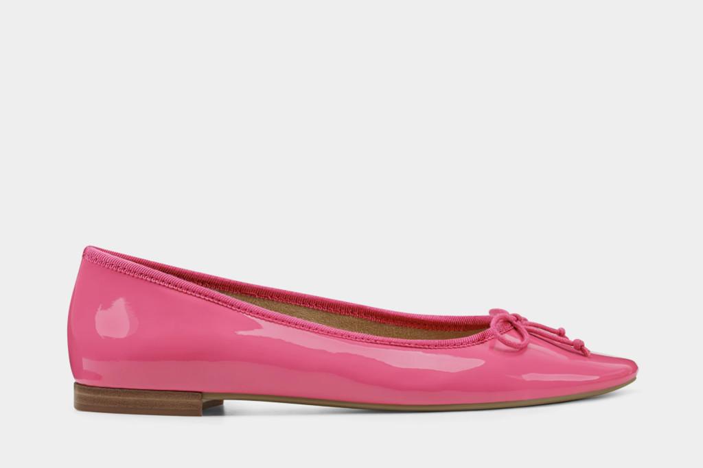 aerosoles, bca shoe, pink ballet flat aerosoles