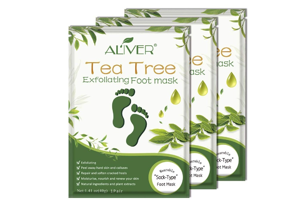 Aliver Tea Tree Exfoliating Foot Mask