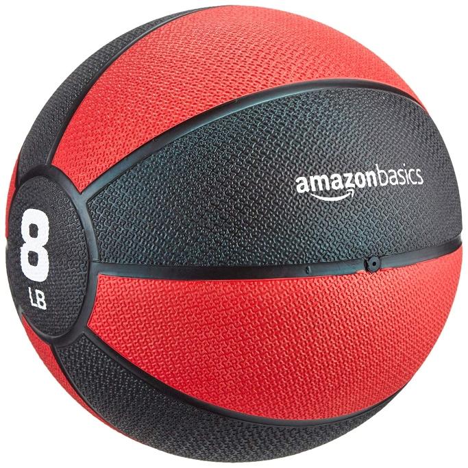 amazonbasics medicine ball, exercise ball