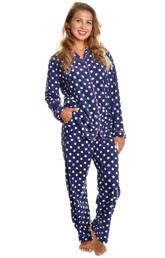 angelina fleece pajamas