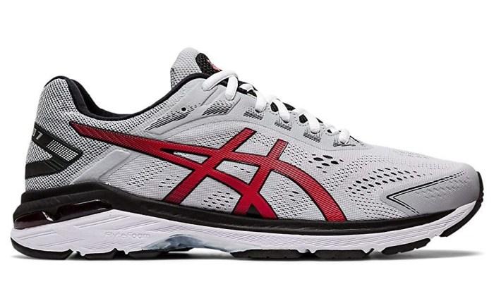 asics running shoes for flat feet