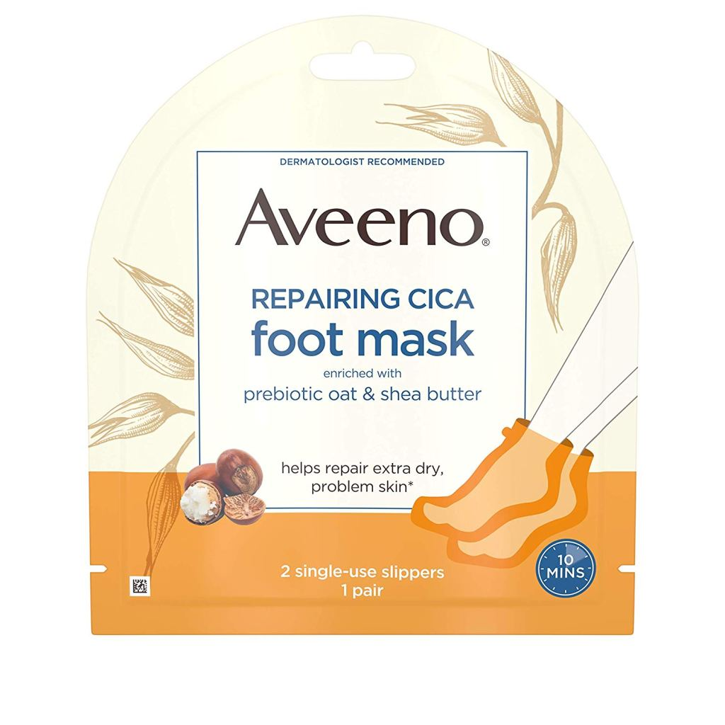 aveeno foot mask