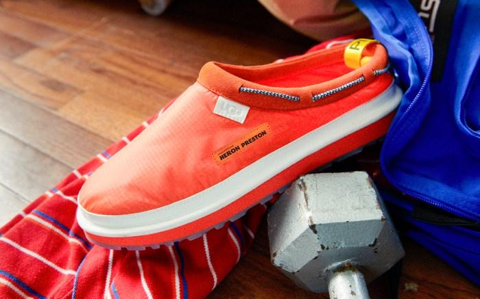 tasman orange, heron preston, ugg, fall 2019, shoes