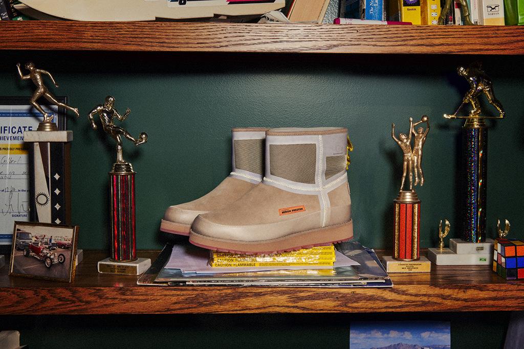 heron preston, ugg, fall 2019, shoes