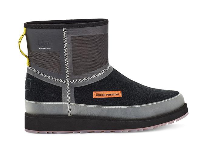 black urban tech, heron preston, ugg, fall 2019, shoes