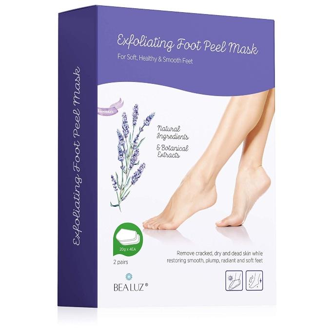 bealuz exfoliating foot peel, Foot Exfoliators