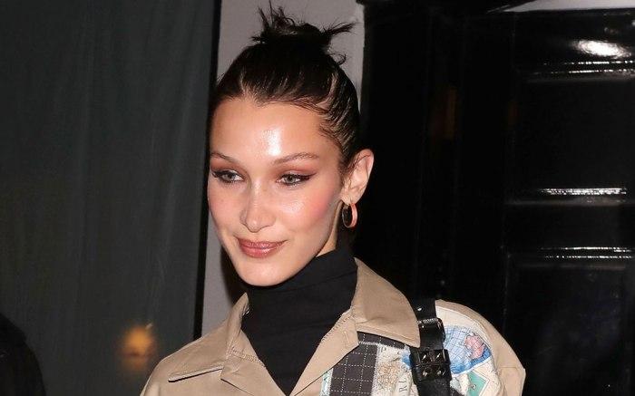 Bella Hadid, london, celebrity style,