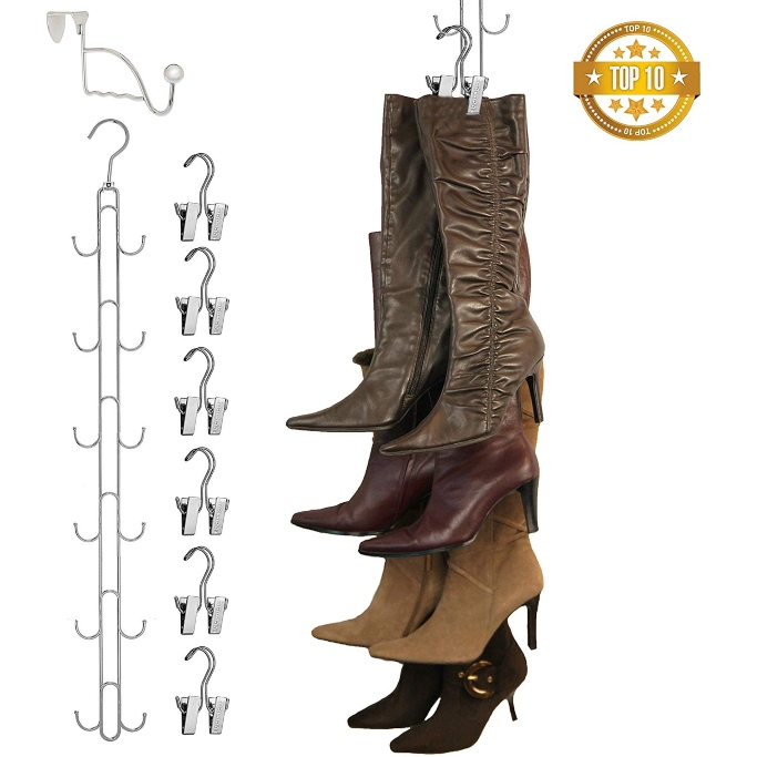 Boottique Vertical Hanging Boot Rack