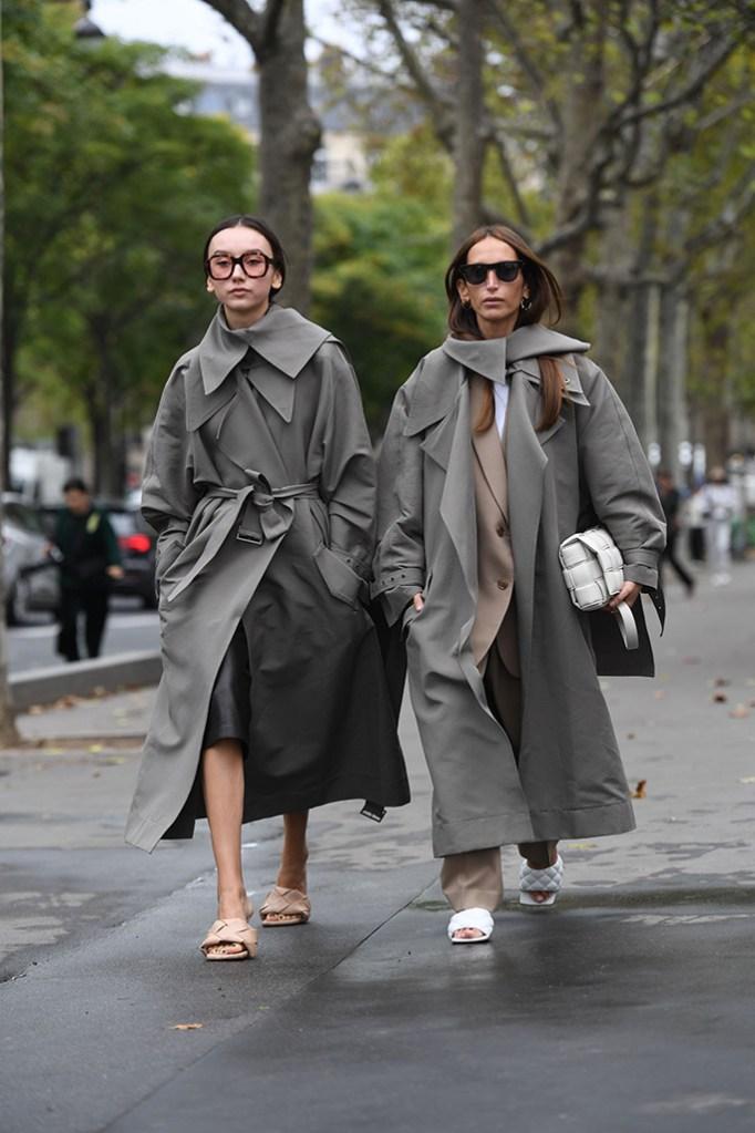 Street Style, Spring Summer 2020, Paris Fashion Week, Bottega Veneta shoes