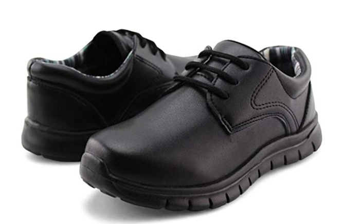 boys dress shoes, laceup, uniform shoes, school shoes