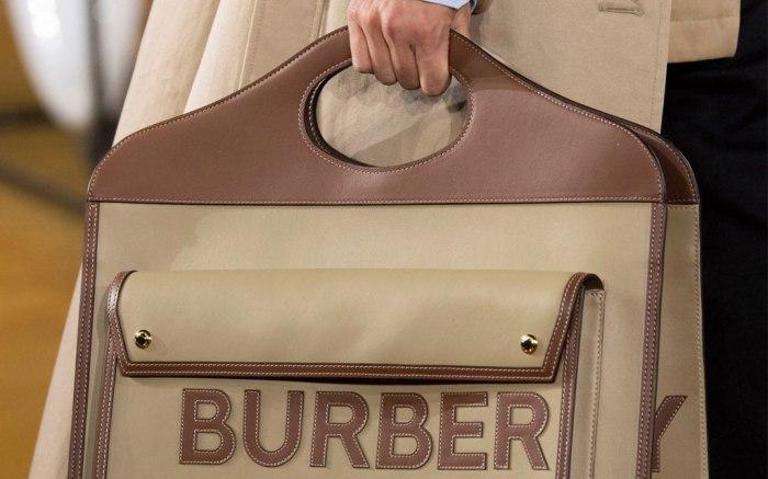 Burberry show, Detail, Spring Summer 2020, London Fashion Week, UK - 16 Sep 2019