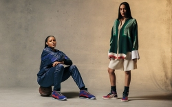 Basketball star Maya Moore and stylist