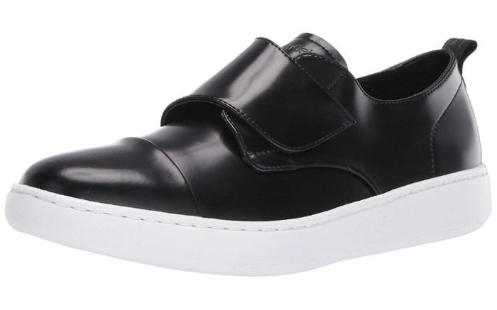 calvin klein velcro sneakers, mens
