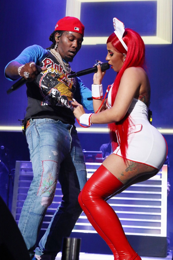 Cardi B and OffsetiHeart Radio Powerhouse at the Prudential Center, Newark, New Jersey, USA - 27 Oct 2019