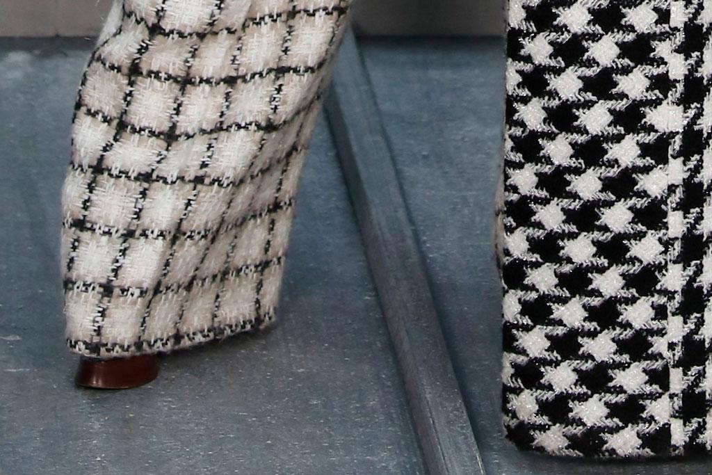 Cardi B, platform shoes, Paris fashion week, chanel, front row, celebrity style