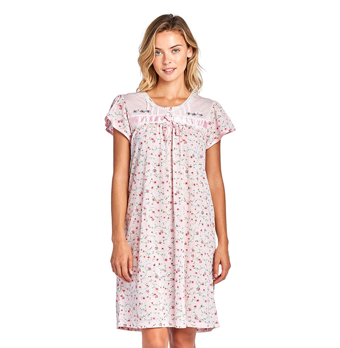 casual-nights-cap-sleeve-nightgown