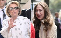 Hillary, Chelsea Clinton, New York city,