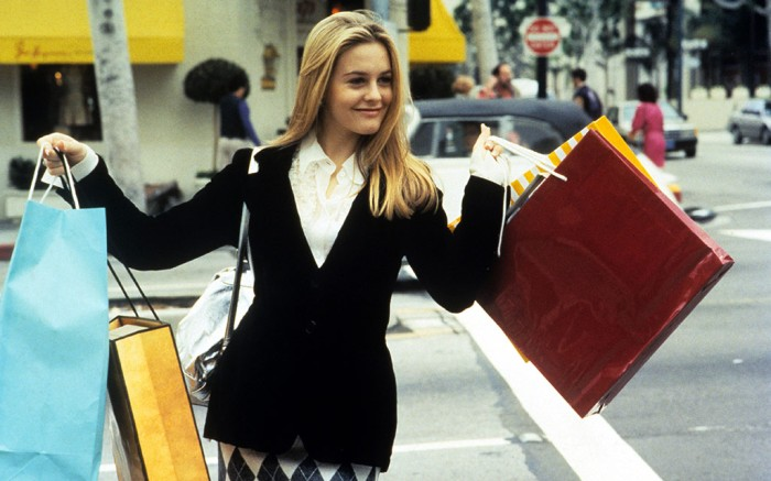 "Alicia Silverstone's Cher Horowitz in 1995 movie ""Clueless""."