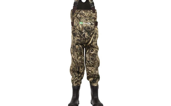 kids chest waders