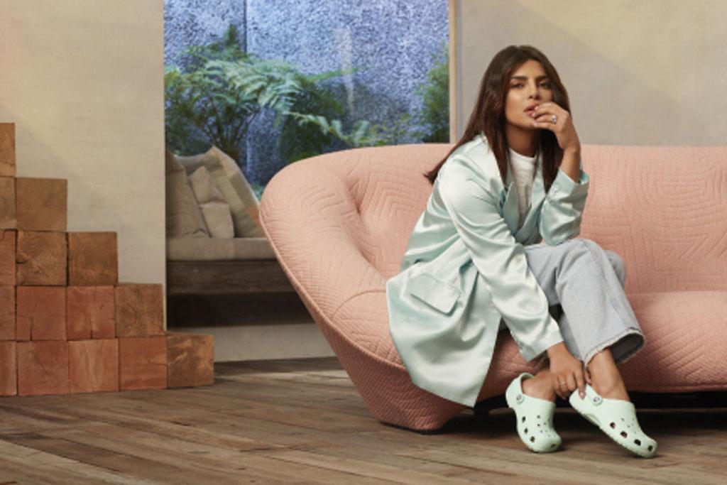 Priyanka Chopra, crocs, rubber clogs, brand ambassador