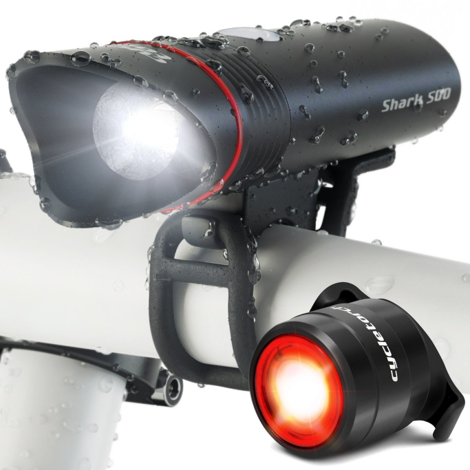 Cycle Torch Shark 500 USB Rechargeable Bike Light