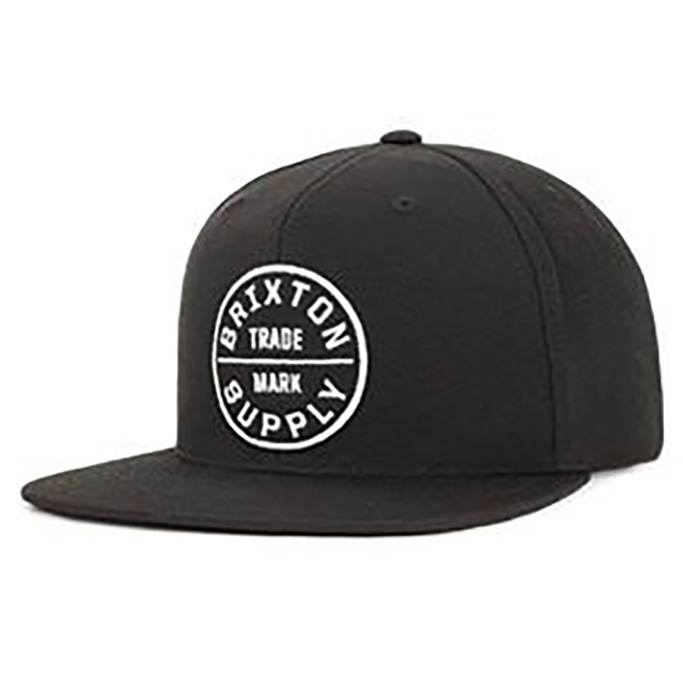 brixton hat, black snapback, skate hats