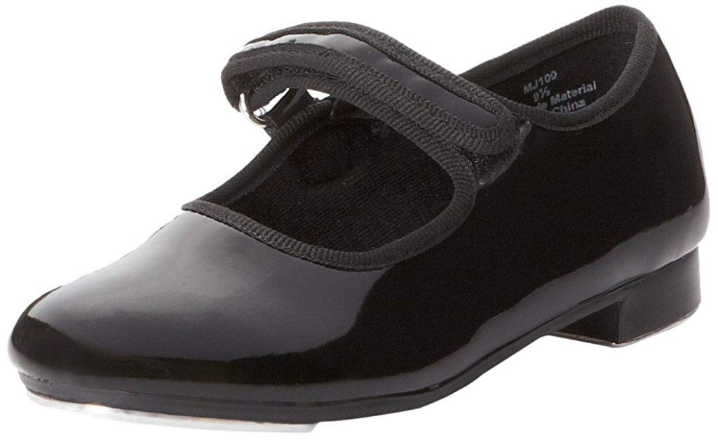 dance class tap shoes