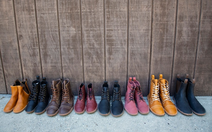 davinci footwear, boots, sustainable