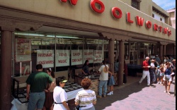 WOOLWORTH NEW MEXICO Tourist and locals