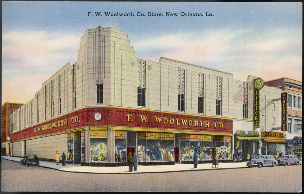 F W Woolworth's Store New Orleans Usa 1930sHistorical Collection 103