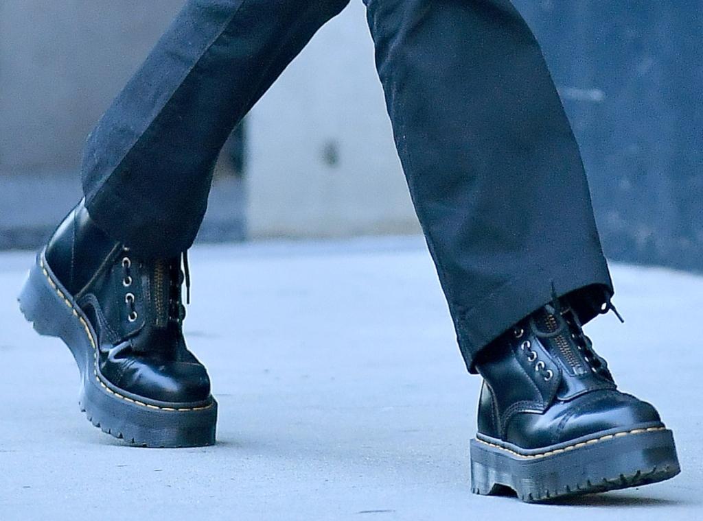 kendall jenner, dr. martens sinclair boots
