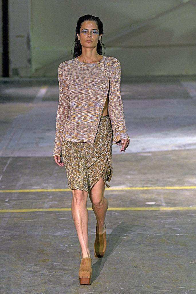 Eckhaus Latta clogs, Paris Fashion Week, spring '20.