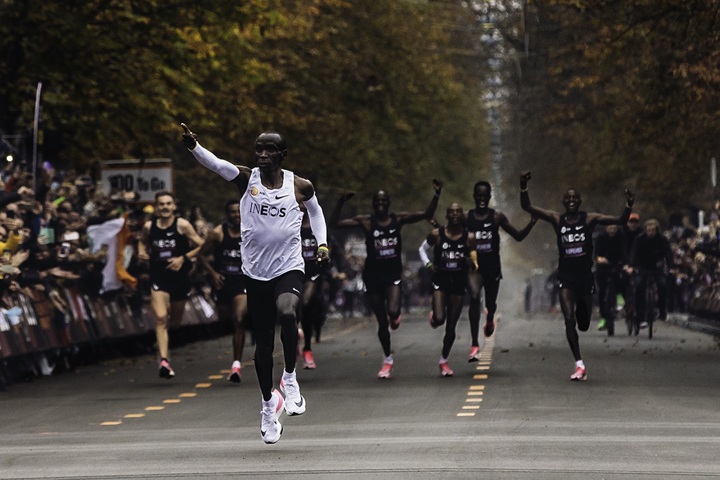 Eluid Kipchoge Nike Next%, marathon sneakers, shoes