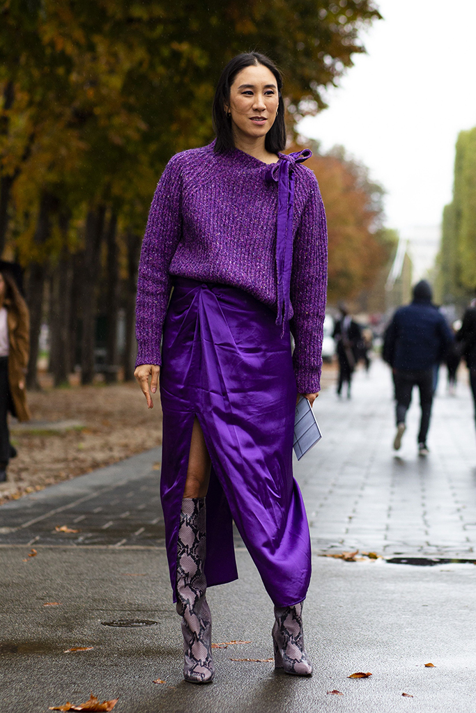 Street StyleStreet Style, Spring Summer 2020, Paris Fashion Week, France - 02 Oct 2019