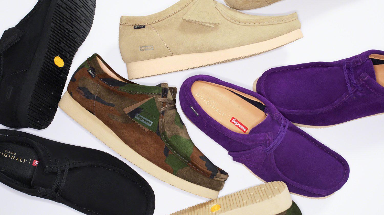 Supreme x Clarks Wallabee Shoe