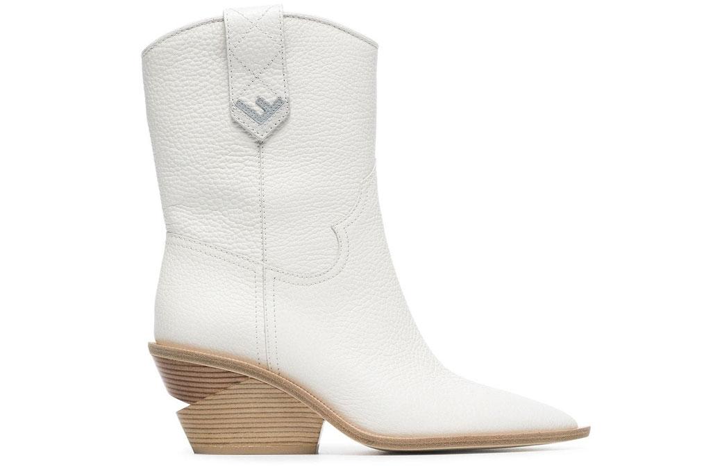 fendi, western boots