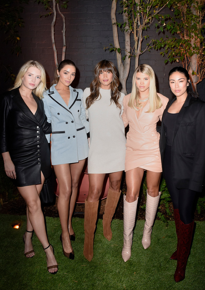 Lottie Moss, Olivia Culpo, Rocky Barns, Sofia Richie, stephanie Sheppard, vince camuto fall 2019, party