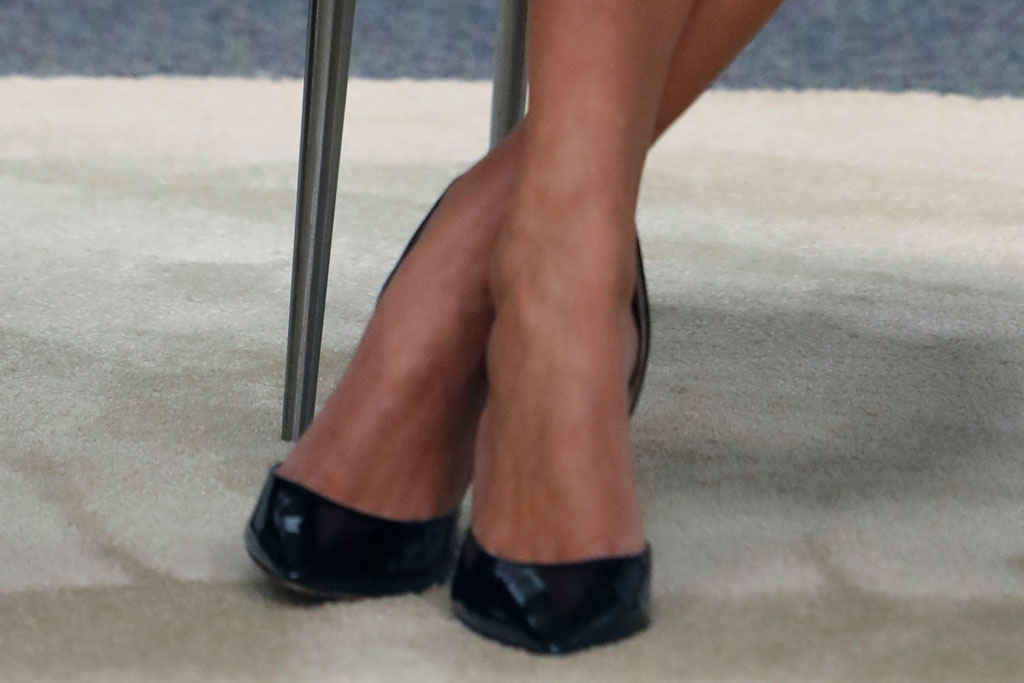 Ivanka Trump, classic black pumps, stilettos, Dallas, taxes, celebrity style, first daughter, shoe style