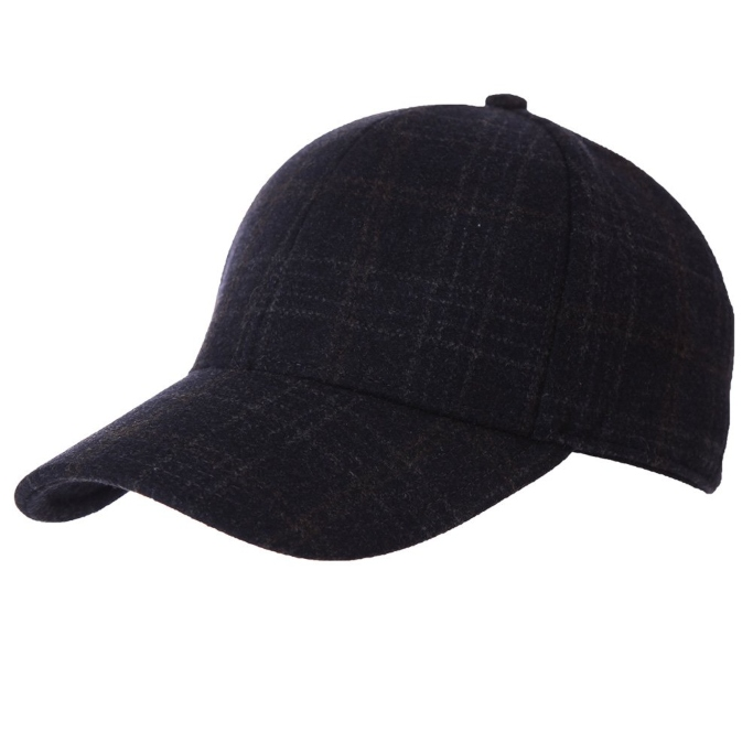 jeff and aimy men's winter wool baseball cap